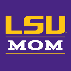 LSU Purple Mom T-Shirt