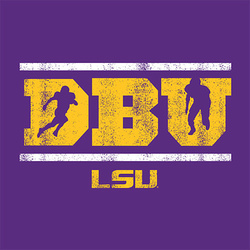 LSU PURPLE DBU T-shirt