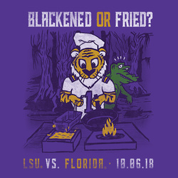 2018 LSU vs. Florida Gameday T-shirt