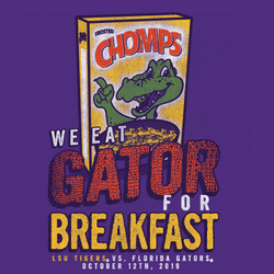 2019 LSU vs. Florida Gameday T-shirt