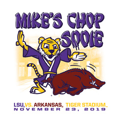 2019 LSU vs. Arkansas Gameday T-shirt
