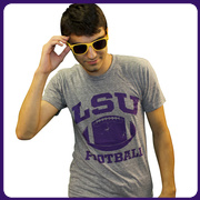 LSU Sports Grey Classic Football T-Shirt