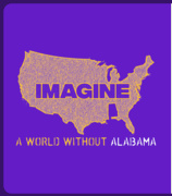 Imagine A World Without Alabama T-shirt