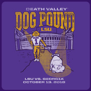 2018 LSU vs. Georgia Gameday T-shirt