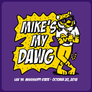 2018 LSU vs. Miss St. Gameday T-shirt
