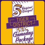 2018 SEC Gameday T-shirt Package
