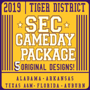 2019 LSU SEC Gameday T-shirt Package