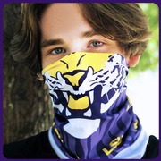 Mike the Tiger LSU Neck Gaiter